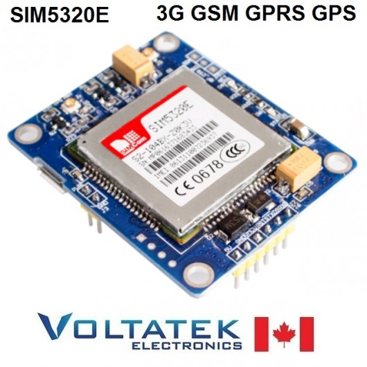 SIM5320E 3G Module GSM GPRS GPS with Serial Interface