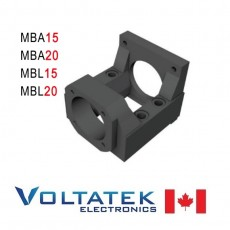 MBA15 MBA20 MBL15 MBL20 Nema 23 34 Motor Mounting Bracket for Ball Screw support