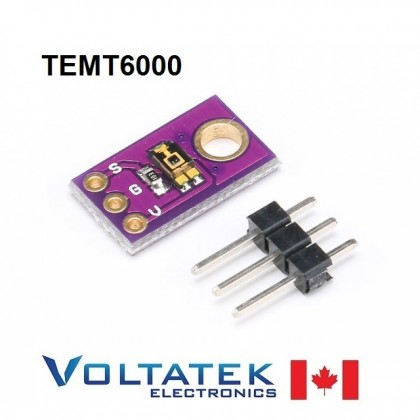 TEMT6000 Light Intensity Sensor Module