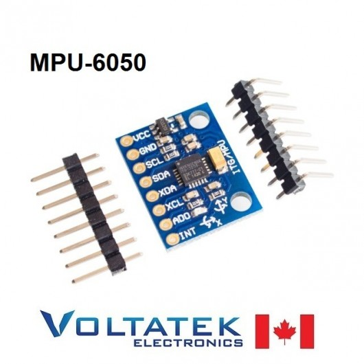 MPU-6050 3 Axis Gyroscope Accelerometer Module