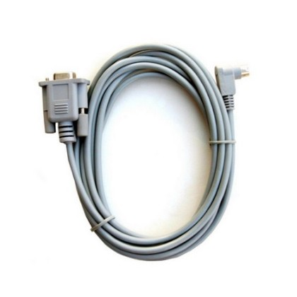 1761-CBL-PM02 Substitute for Allen-Bradley 8-Pin Mini DIN to 9-Pin D Shell RS232 Cable