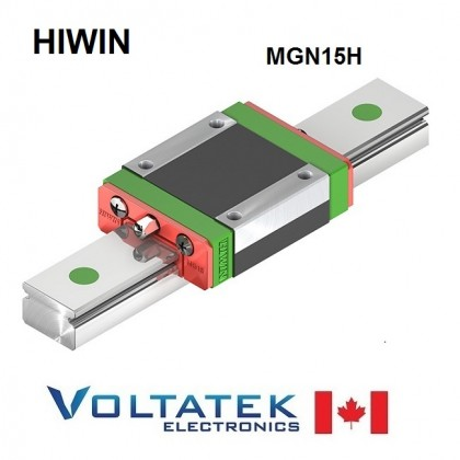 HIWIN Original MGN15H Sliding Block for 15mm Linear Guide Rail