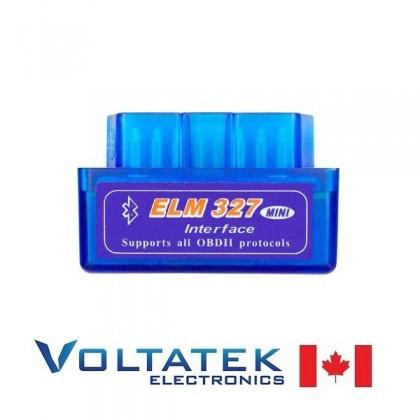 ELM327 Bluetooth OBDII (OBD2) Car Diagnostic Interface Scanner Tool