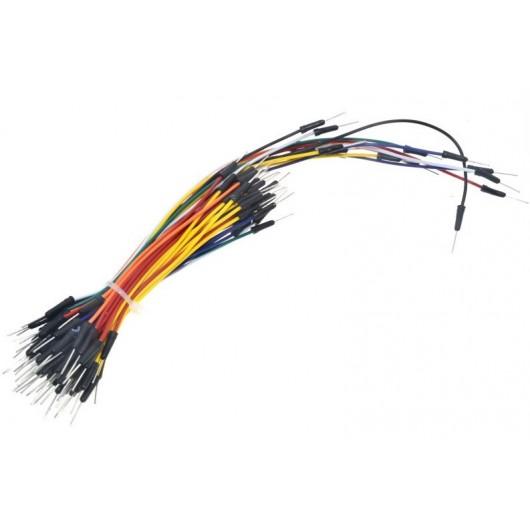 65pcs Solderless Breadboard Jumper Wire Kit
