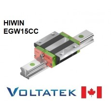 HIWIN EGW15CC Sliding Block for 15mm Linear Guide Rail (EGR15) for CNC