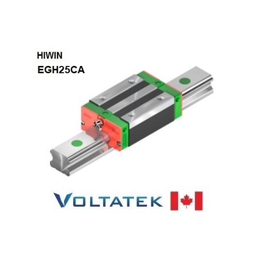 HIWIN EGH25CA Sliding Block for 25mm Linear Guide Rail (EGR25) for CNC