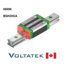 HIWIN EGH20CA Sliding Block for 20mm Linear Guide Rail (EGR20) for CNC