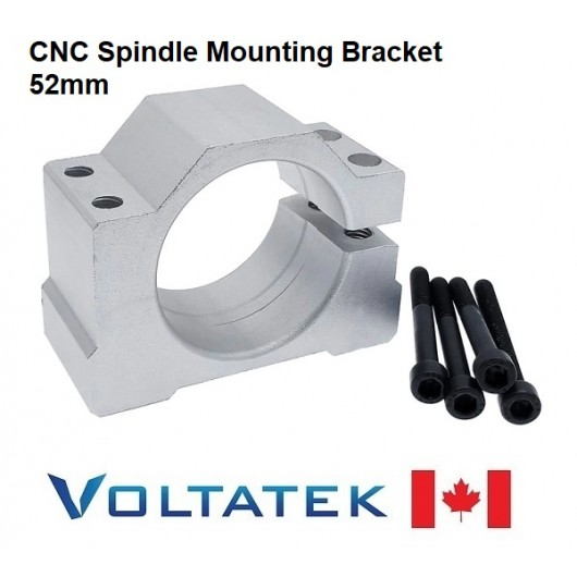 Spindle Mounting Bracket for CNC Router 52mm