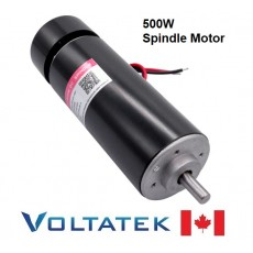 500W Air Cooled Spindle Motor 0.5kW for CNC Router Engraver