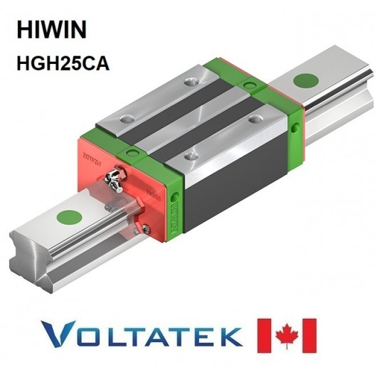 HIWIN HGH25CA Sliding Block for 25mm Linear Guide Rail (HGR25) for CNC