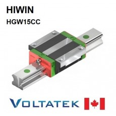 HIWIN HGW15CC Sliding Block for 15mm Linear Guide Rail (HGR15) for CNC