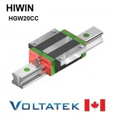 HIWIN HGW20CC Sliding Block for 20mm Linear Guide Rail (HGR20) for CNC
