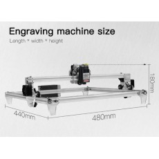 CNC Laser Engraving Machine Kit 300x400mm