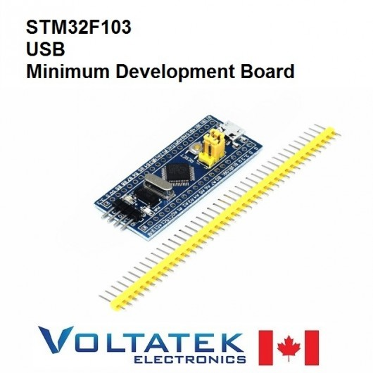 STM32 STM32F103C8T6 ARM Minimum System Development Board Blue Pill