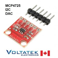 MCP4725 I2C DAC Digital Analog Converter Module