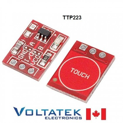 TTP223 Touch Button Capacitive Sensor Module