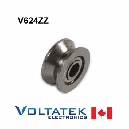 V624ZZ V Groove Pulley Ball Bearing 4x13x6mm 624ZZ