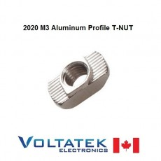 10 pieces M3 Nut T-Nut for 20mm 2020 Extruded Aluminum