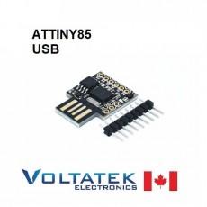 ATTINY85 small USB 8-bit 20MHz AVR Microcontroller Dev Board Male Plug