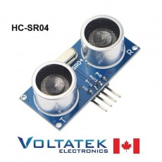 HC-SR04 Ultrasonic module range finder