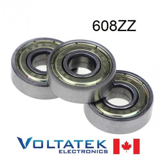 608ZZ 8x22x7mm Miniature Ball Bearing 608Z
