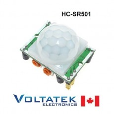 HC-SR501 Pyroelectric IR Motion Sensor module infrared adjustable