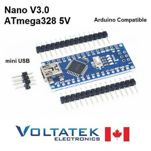 Nano V3.0 ATmega328 5V 16M USB Arduino Compatible Board