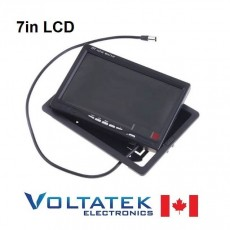 "7"" TFT LCD Color Monitor DVD VCR"