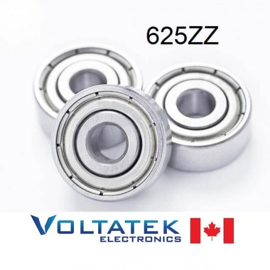 625ZZ 5x16x5mm Miniature Ball Bearing