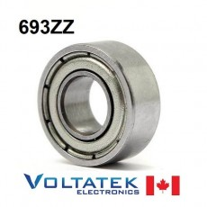 693ZZ 3x8x4mm Miniature Ball Bearing