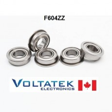 F604ZZ Flange Ball Bearing
