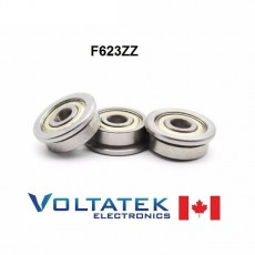 F623ZZ Flange Ball Bearing