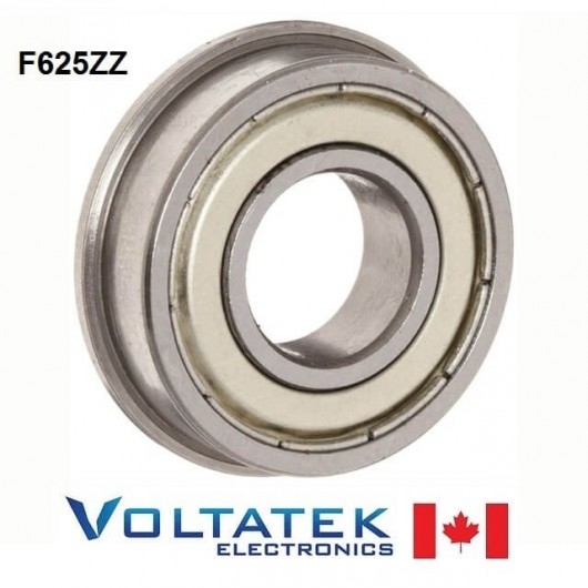 F625ZZ Flange Ball Bearing