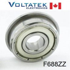 F688ZZ Flange Ball Bearing