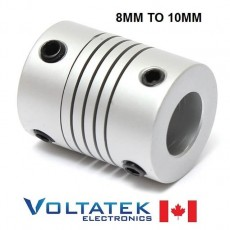 8x10mm Flexible Motor Coupling