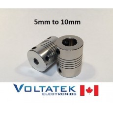 5x10mm Flexible Motor Coupling