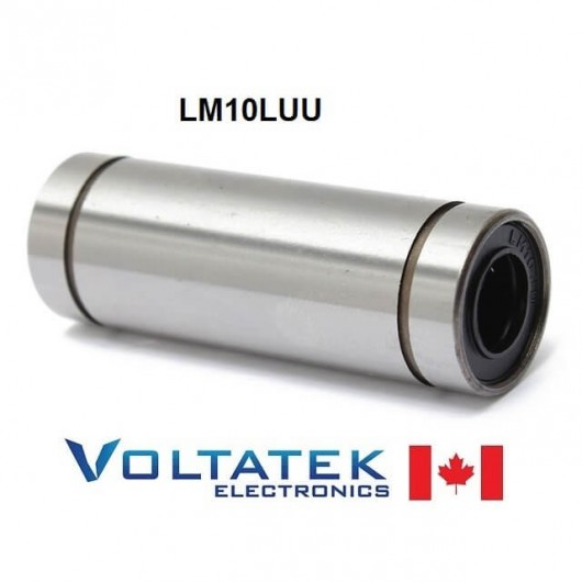 LM10LUU 10mm Long Linear Ball Bearing for CNC Router 3D Printer