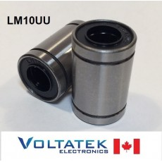 LM10UU 10mm Linear Ball Bearing for CNC Router 3D Printer