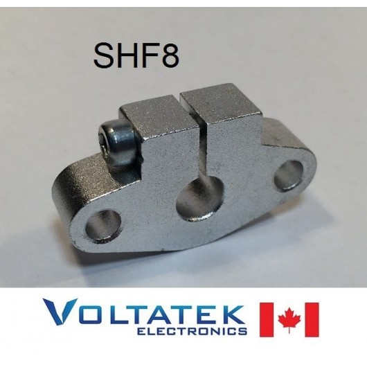 SHF8 8mm Shaft Support Linear Rail CNC Router 3D Printer SHF08