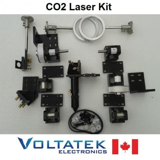 Mechanical Laser Parts Kit for CO2 Engraving Cutting Hardware CNC Router