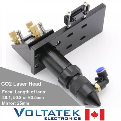 CO2 Laser Head Mount for lens and Mirror for Engraving Cutting Machine