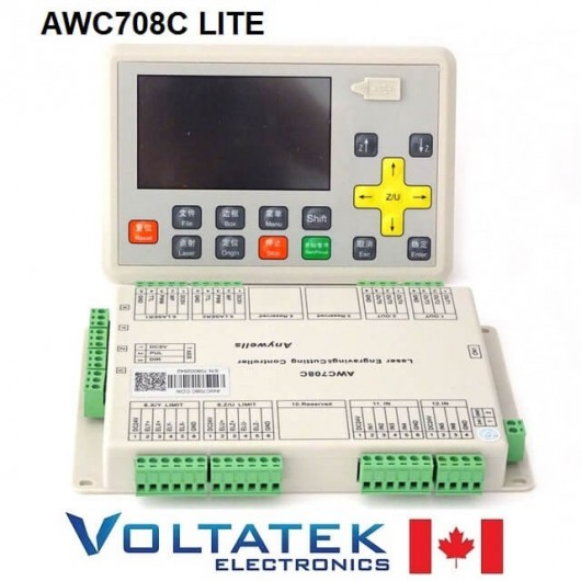 AWC708C LITE Co2 Laser Controller System for Laser Engraving and Cutting Machine