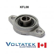 KFL08 8mm Pillow Block Bearing Flange