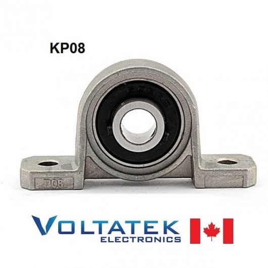 KP08 8mm Pillow Block Bearing