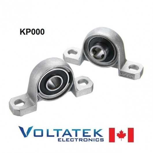 KP000 10mm Pillow Block Bearing