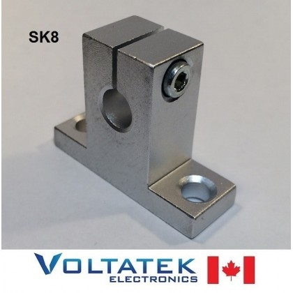SK8 8mm Shaft Support Linear Rail CNC Router 3D Printer