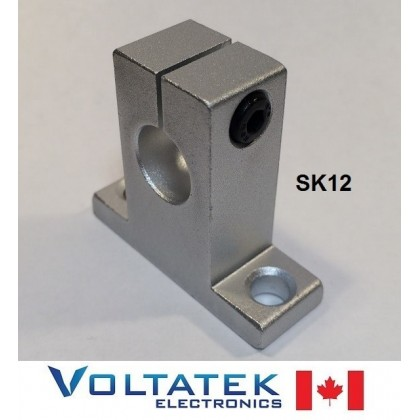 SK12 12mm Shaft Support Linear Rail CNC Router 3D Printer