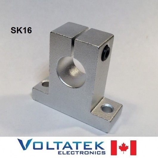 SK16 16mm Shaft Support Linear Rail CNC Router 3D Printer