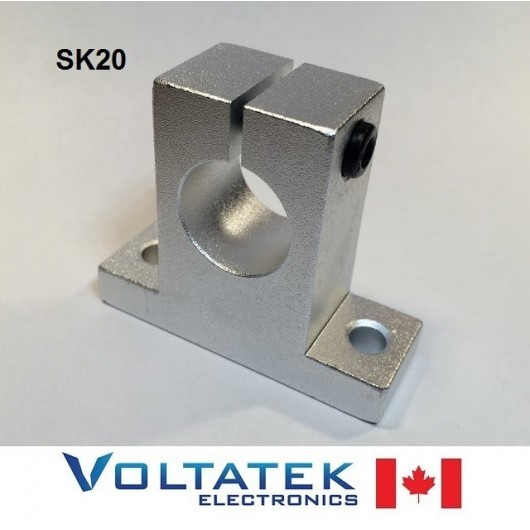 SK20 20mm Shaft Support Linear Rail CNC Router 3D Printer