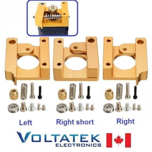 MK8 Filament Extruder Aluminum Block Kit 1.75mm Left or Right or Short for 3D Printer